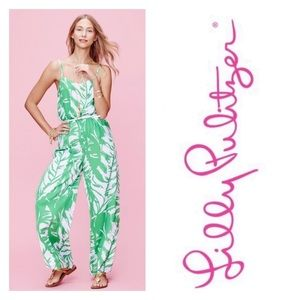 Lilly Pulitzer | Floral Boom Boom Jumpsuit XS
